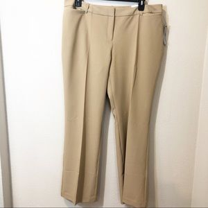 Worthington Curvy Fit Trousers NWT